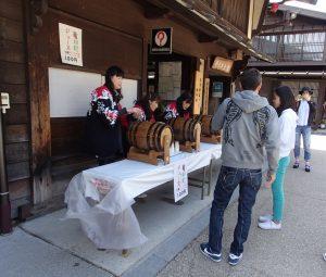 GWは奈良井宿でワインバー